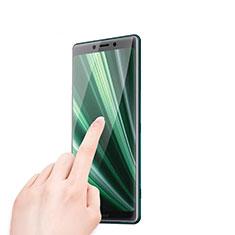 Sony Xperia XZ4用強化ガラス 液晶保護フィルム T01 ソニー クリア