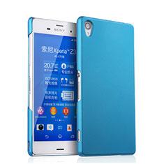 Sony Xperia Z3用ハードケース プラスチック 質感もマット ソニー ブルー