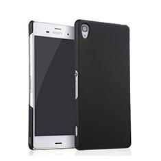Sony Xperia Z3用ハードケース プラスチック 質感もマット ソニー ブラック