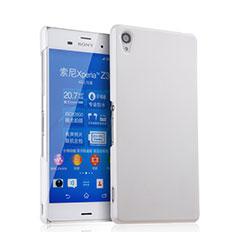 Sony Xperia Z3用ハードケース プラスチック 質感もマット ソニー ホワイト
