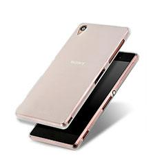 Sony Xperia Z3用シリコンケース ソフトタッチラバー 質感もマット ソニー ホワイト