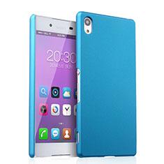 Sony Xperia Z3+ Plus用ハードケース プラスチック 質感もマット ソニー ブルー