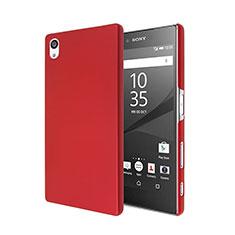 Sony Xperia Z5用ハードケース プラスチック 質感もマット ソニー レッド