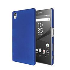 Sony Xperia Z5用ハードケース プラスチック 質感もマット ソニー ネイビー