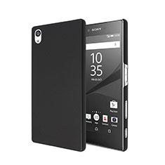 Sony Xperia Z5用ハードケース プラスチック 質感もマット ソニー ブラック