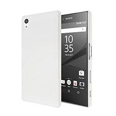 Sony Xperia Z5用ハードケース プラスチック 質感もマット ソニー ホワイト
