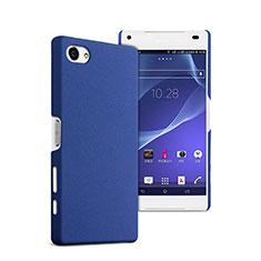 Sony Xperia Z5 Compact用ハードケース プラスチック 質感もマット ソニー ネイビー