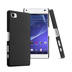 Sony Xperia Z5 Compact用ハードケース プラスチック 質感もマット ソニー ブラック