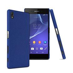 Sony Xperia Z5 Premium用ハードケース プラスチック 質感もマット ソニー ネイビー