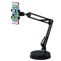Huawei Rhone用スマートフォンスタンド ホルダー ユニバーサル K34 ブラック