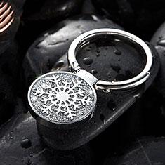 スタンドタイプのスマートフォン ホルダー ユニバーサル バンカーリング 指輪型 S09 シルバー