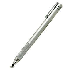 Huawei P20用高感度タッチペン 超極細アクティブスタイラスペンタッチパネル P14 シルバー