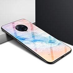 Vivo Nex 3用ハイブリットバンパーケース プラスチック 鏡面 カバー Vivo オレンジ