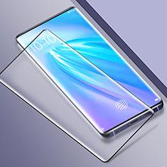 Vivo Nex 3用強化ガラス フル液晶保護フィルム Vivo ブラック