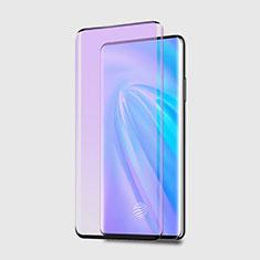 Vivo Nex 3用強化ガラス フル液晶保護フィルム アンチグレア ブルーライト Vivo ブラック
