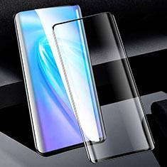 Vivo Nex 3用強化ガラス フル液晶保護フィルム F03 Vivo ブラック