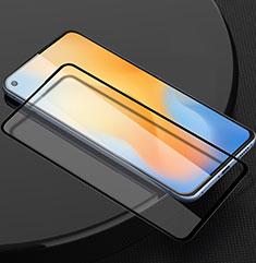 Vivo X50 5G用強化ガラス フル液晶保護フィルム Vivo ブラック