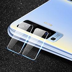 Vivo X50 5G用強化ガラス カメラプロテクター カメラレンズ 保護ガラスフイルム Vivo クリア