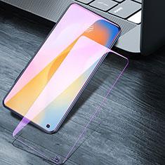 Vivo X50 5G用アンチグレア ブルーライト 強化ガラス 液晶保護フィルム Vivo クリア