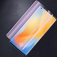 Vivo X50 Pro 5G用アンチグレア ブルーライト 強化ガラス 液晶保護フィルム Vivo クリア