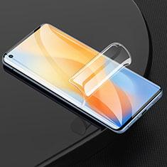 Vivo X50 Pro 5G用高光沢 液晶保護フィルム フルカバレッジ画面 F02 Vivo クリア