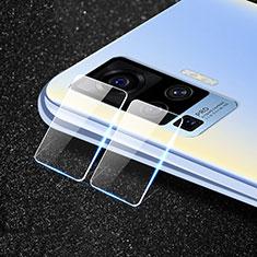 Vivo X51 5G用強化ガラス カメラプロテクター カメラレンズ 保護ガラスフイルム Vivo クリア