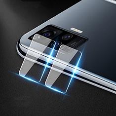 Vivo X51 5G用強化ガラス カメラプロテクター カメラレンズ 保護ガラスフイルム C01 Vivo クリア