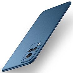 Vivo X60 5G用ハードケース プラスチック 質感もマット カバー M01 Vivo ネイビー