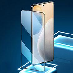 Vivo X60 5G用強化ガラス フル液晶保護フィルム Vivo ブラック