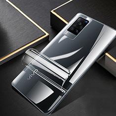 Vivo X60 5G用高光沢 液晶保護フィルム フルカバレッジ画面 Vivo クリア