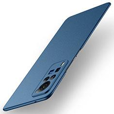 Vivo X60 Pro 5G用ハードケース プラスチック 質感もマット カバー M01 Vivo ネイビー