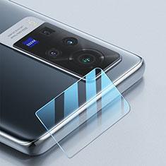 Vivo X60 Pro 5G用強化ガラス カメラプロテクター カメラレンズ 保護ガラスフイルム Vivo クリア