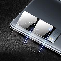 Vivo X60 Pro 5G用強化ガラス カメラプロテクター カメラレンズ 保護ガラスフイルム C01 Vivo クリア
