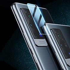 Vivo X60 Pro 5G用強化ガラス カメラプロテクター カメラレンズ 保護ガラスフイルム C02 Vivo クリア