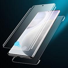 Vivo X60 Pro 5G用高光沢 液晶保護フィルム 背面保護フィルム同梱 F01 Vivo クリア