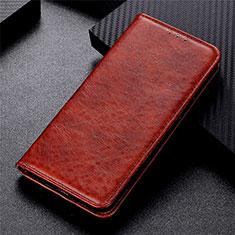 Vivo Y12s用手帳型 レザーケース スタンド カバー L01 Vivo ブラウン