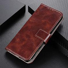 Vivo Y12s用手帳型 レザーケース スタンド カバー L03 Vivo ブラウン