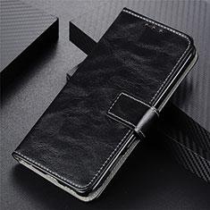 Vivo Y12s用手帳型 レザーケース スタンド カバー L03 Vivo ブラック