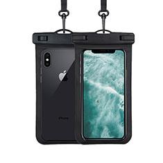 Samsung Galaxy S30 Plus 5G用完全防水ケース ドライバッグ ユニバーサル W07 ブラック
