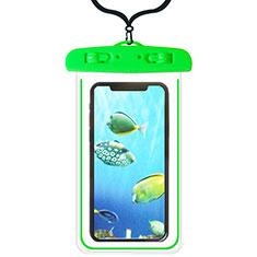 Samsung Galaxy S21 5G用完全防水ケース ドライバッグ ユニバーサル W08 グリーン
