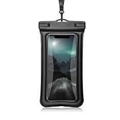 Samsung Galaxy S21 5G用完全防水ケース ドライバッグ ユニバーサル W12 ブラック