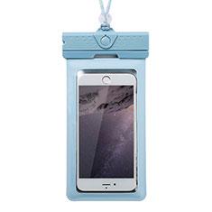 Samsung Galaxy S30 Plus 5G用完全防水ケース ドライバッグ ユニバーサル W17 ネイビー