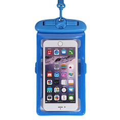 Samsung Galaxy S30 Plus 5G用完全防水ケース ドライバッグ ユニバーサル W18 ネイビー