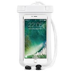 Samsung Galaxy S21 5G用完全防水ケース ドライバッグ ユニバーサル ホワイト
