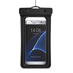 Samsung Galaxy S21 5G用完全防水ポーチドライバッグ ケース ユニバーサル ブラック
