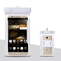 Huawei P Smart Z用ドライバッグケース 完全防水 ユニバーサル ホワイト