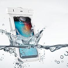 Huawei Nova 3e用完全防水ポーチドライバッグ ケース ユニバーサル ホワイト