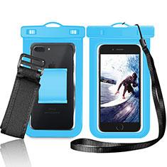Samsung Galaxy S21 5G用完全防水ケース ドライバッグ ユニバーサル W05 ネイビー