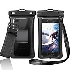 Samsung Galaxy Grand 3 G7200用完全防水ケース ドライバッグ ユニバーサル W05 ブラック