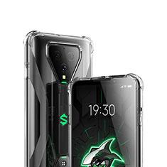Xiaomi Black Shark 3 Pro用極薄ソフトケース シリコンケース 耐衝撃 全面保護 クリア透明 T03 Xiaomi クリア